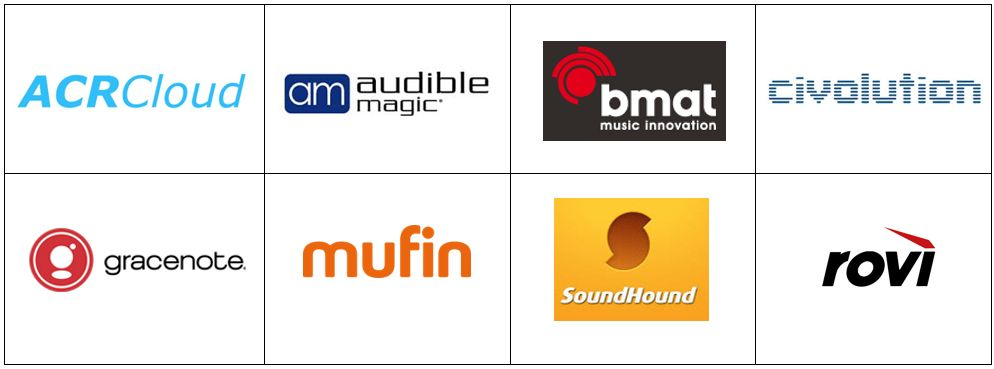 Music Recognition Providers