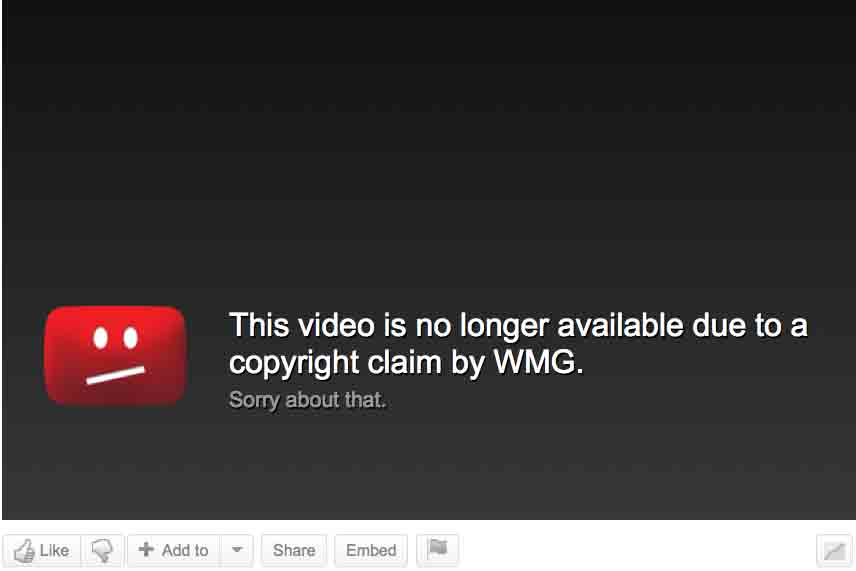 YouTube Copyright Infringement